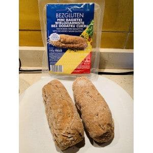 Mini baguettes multi grain bezgluten produit 1