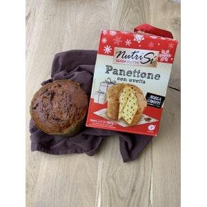 Panettone aux raisins secs sans gluten
