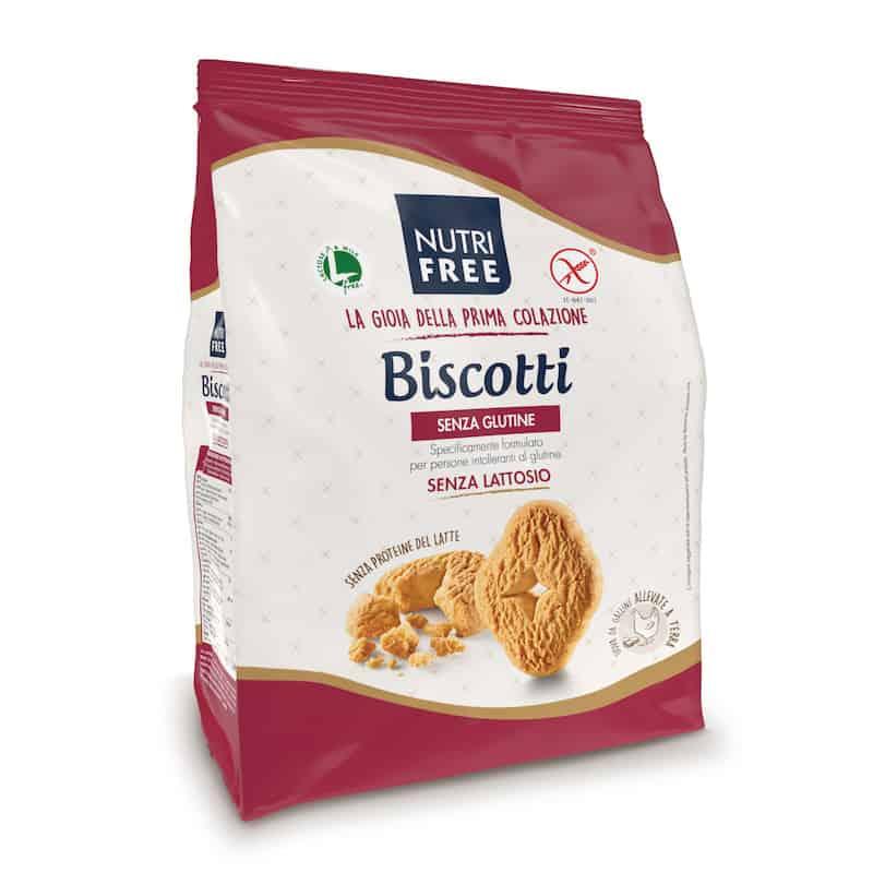 Biscuits secs et croquants sans gluten NT foods