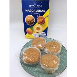 Madeleine fourrée abricot sans gluten bezgluten produit 1