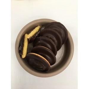 Gâteau enrobé de chocolat garni à l'orange sans gluten produit 2