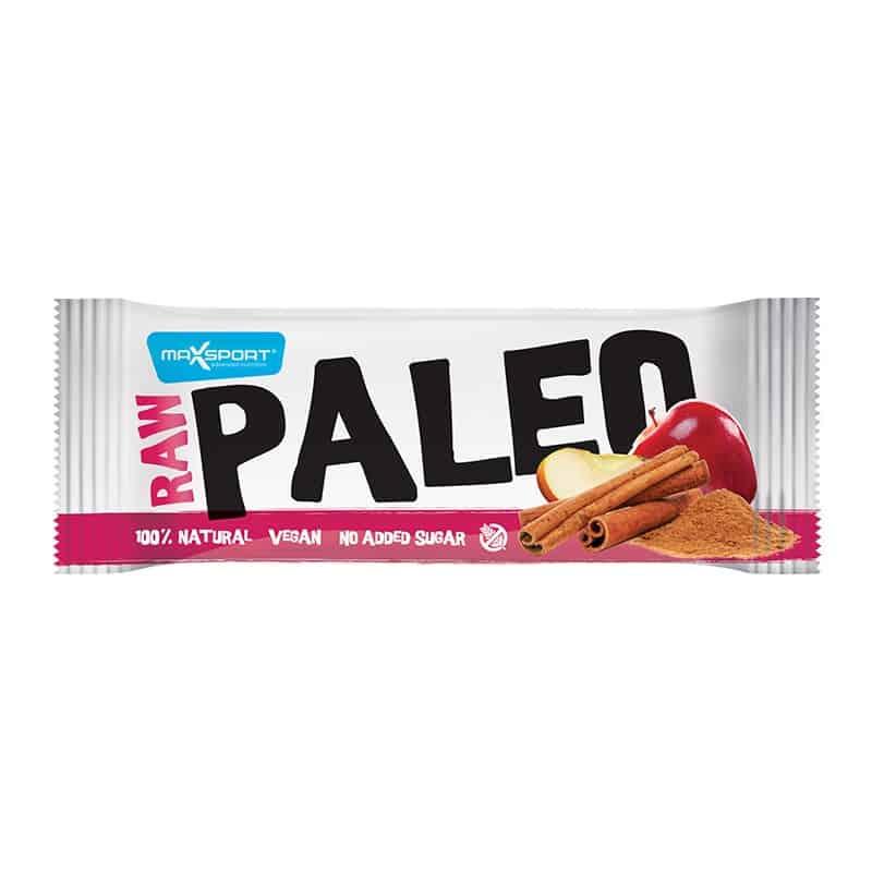 Barre protéinée pomme cannelle Raw Paleo Max Sport