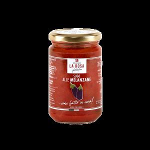 Sauce à l'aubergine Pastificio La Rosa sans gluten