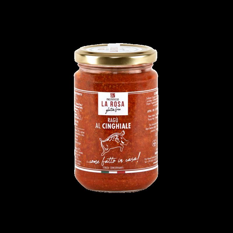 Sauce sanglier Pastificio La Rosa sans gluten