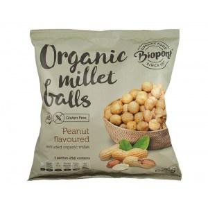 Billes millet cacahuètes Biopont