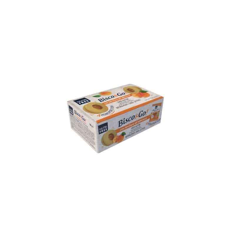 Biscuits lunettes fourrés abricot NT Foods