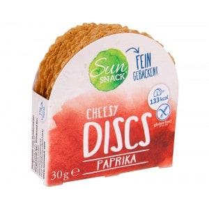 Palets croustillants fromage paprika Sun Snacks