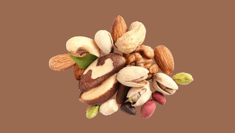 Fruits secs et cacahouètes sans gluten   Calicote