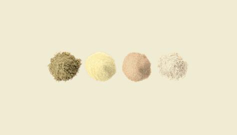 Choix farines sans gluten
